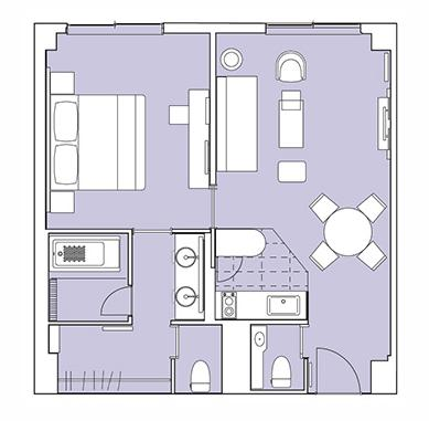 #floorplans Grand Deluxe Suite