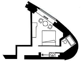 #floorplans Double Room