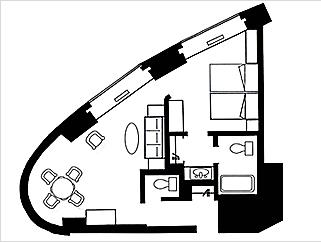 #floorplans Suite Room