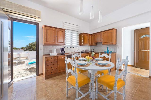 Lindos Diamond - Kitchen with a view