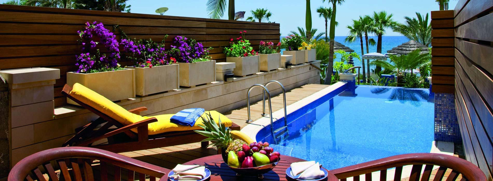 Amathus Beach Hotel-Junior Suites with Private Pool