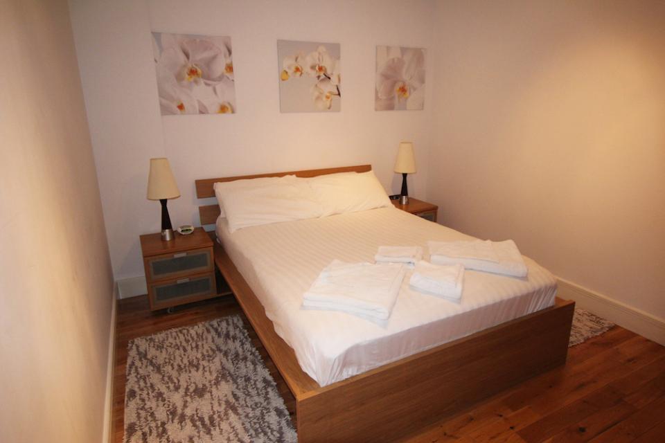Croydon Serviced Apartments Bedroom