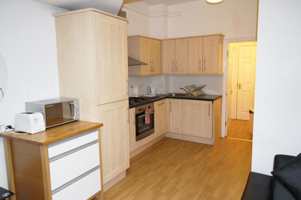 Croydon Serviced Apartments Kichenette