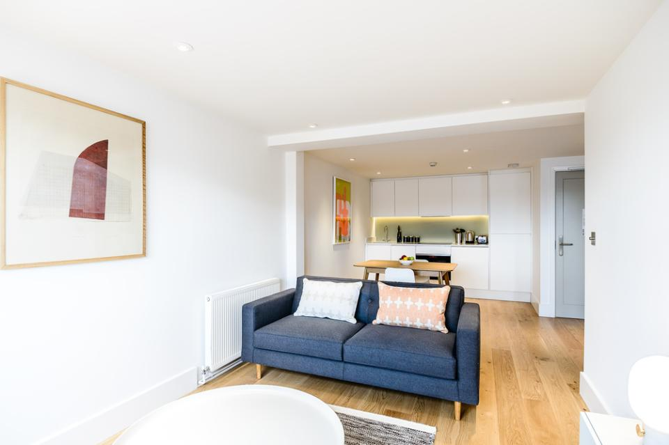 Fulham - One Bedroom Living Area