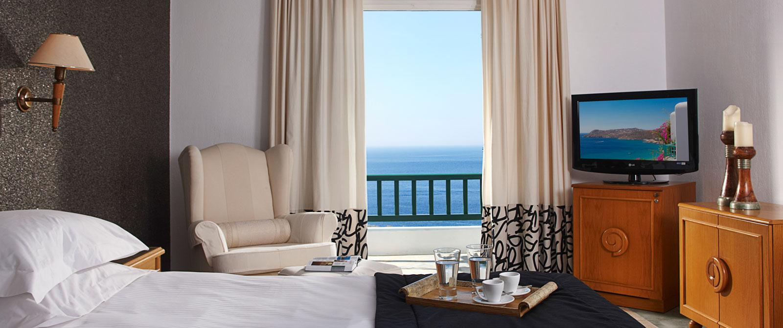Royal Myconian-Deluxe Double Room