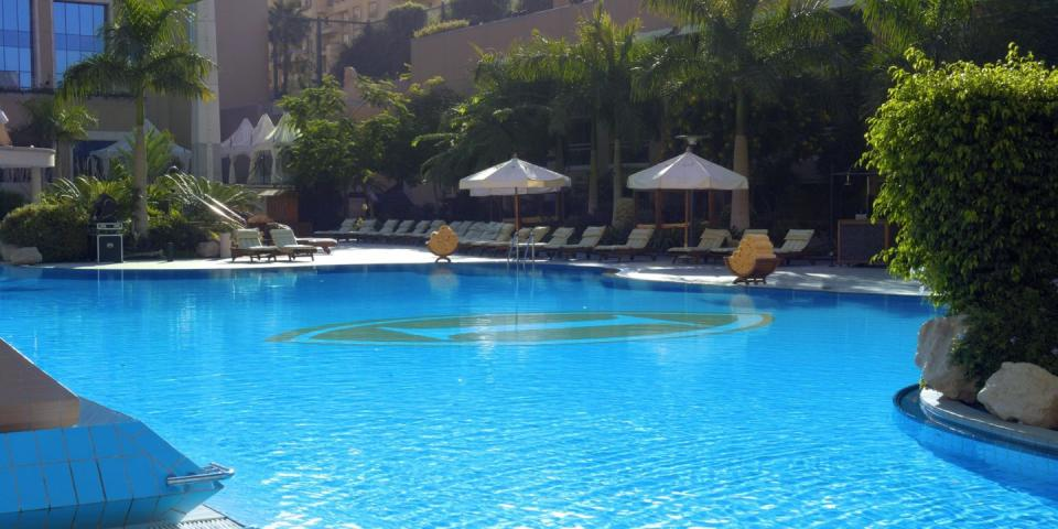 Intercontinental City Stras - Cairo -Pool .jpg