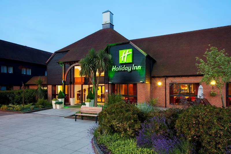 The Holiday Inn Fareham.