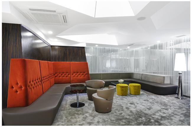 Cartoon hotel-Lobby