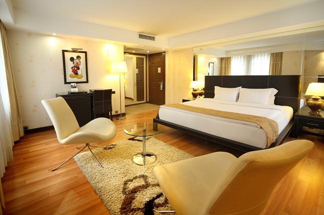 Cartoon hotel-Room